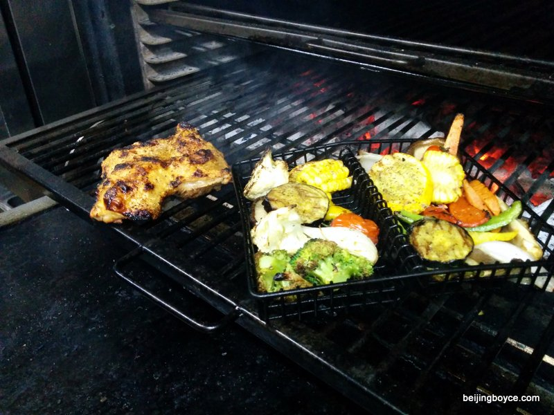 josper oven grill fun with eduardo gutierrez chicken clams veggies sausage migas beijing china (4)