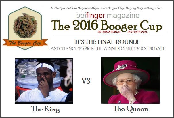 booger cup finals 2016
