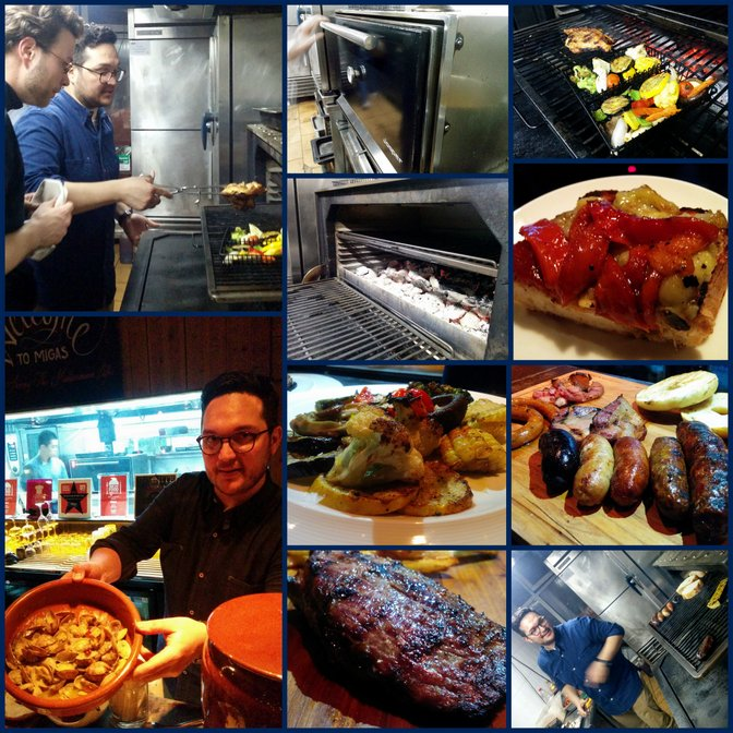 josper oven at migas with edu gutierrez beijing china