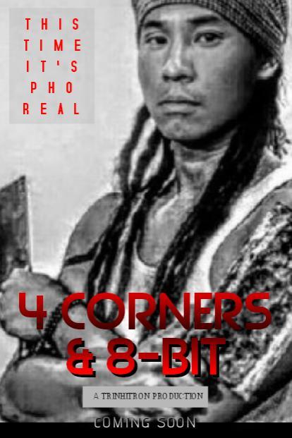 jun trinh 4 corners and 8-bit poster