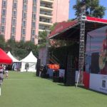 CCBC Canada Day Party Beijing 2017 Stage