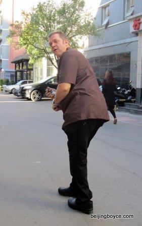 Jeff Powell Frost Back Alley Bistro Beijing