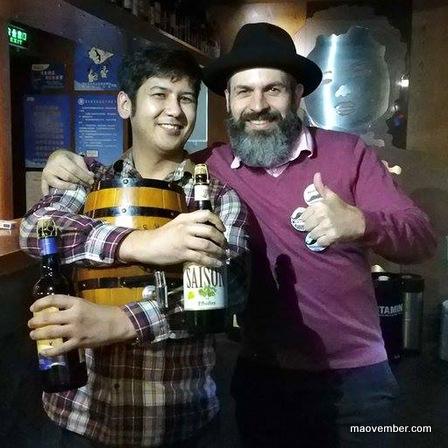 1-maovember 2016 liar's dice at beer mania 3