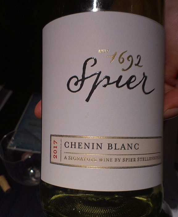 wines of south africa beijing roadshow 2017 spier signature chenin blanc 2017