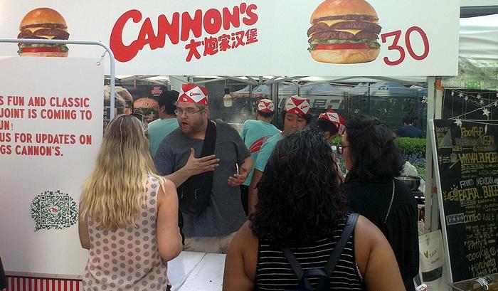 Beijinger Burger Cup 2017 Cannon's Burger