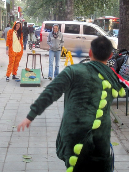 maovember 2016 irish volunteer corn toss and halloween party